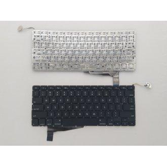 Клавиатура за лаптоп Apple MacBook Pro A1286 For Backlit Black US (Version 2) (Малък Enter)