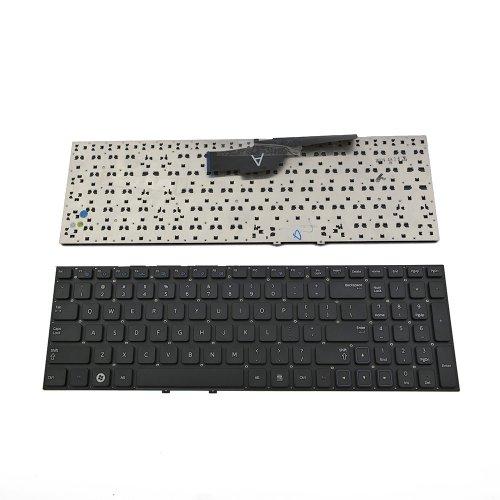 Клавиатура за лаптоп Samsung 300 Series NP300 NP300E5A NP300V5A 15.6 Черна Без Рамка / Black Frame Black US