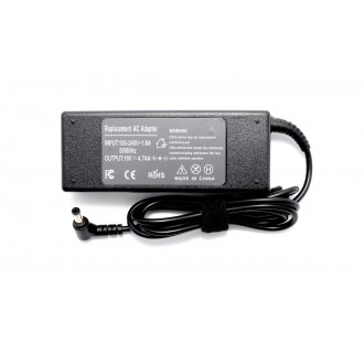 Зарядно за лаптоп (Laptop AC Adapter) Asus, Toshiba, Lenovo, Benq, Gateway - 19V / 4.74A / 90W - (5.5x2.5) - Заместител / Replacement
