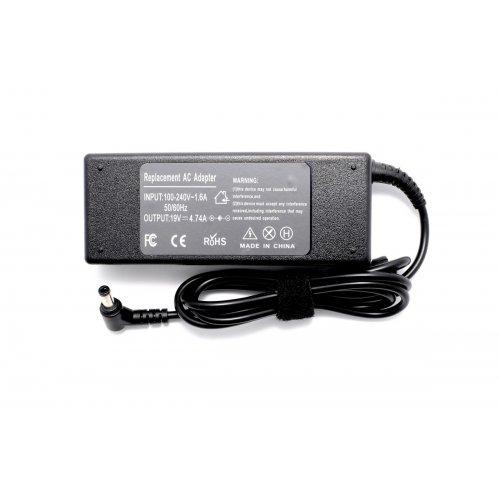 Зарядно за лаптоп (Laptop AC Adapter) Asus, Toshiba, Lenovo, Benq, Gateway - 19V / 4.74A / 90W - (5.5x2.5) - Заместител / Replacement