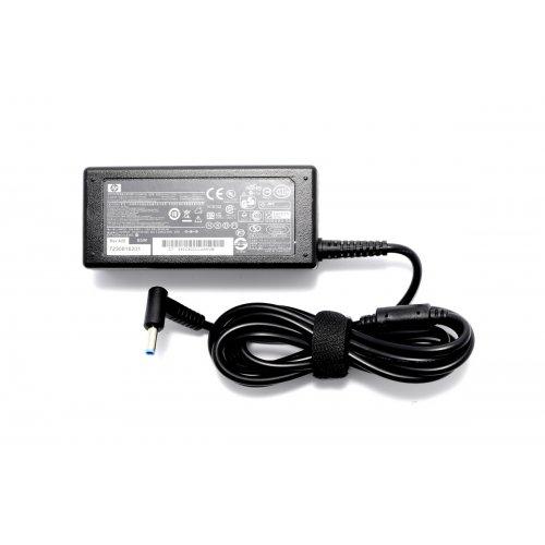 Оригинално Зарядно за лаптоп (Original Laptop Adapter) HP Compaq - 19.5V / 3.33A / 65W - (Smart) (4.5x0.7x3.0) Син Накрайник