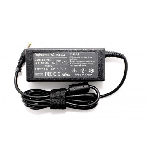 Зарядно за лаптоп (Laptop AC Adapter) HP Compaq - 18.5V / 3.5A / 65W - (4.8x1.7) - Заместител / Replacement