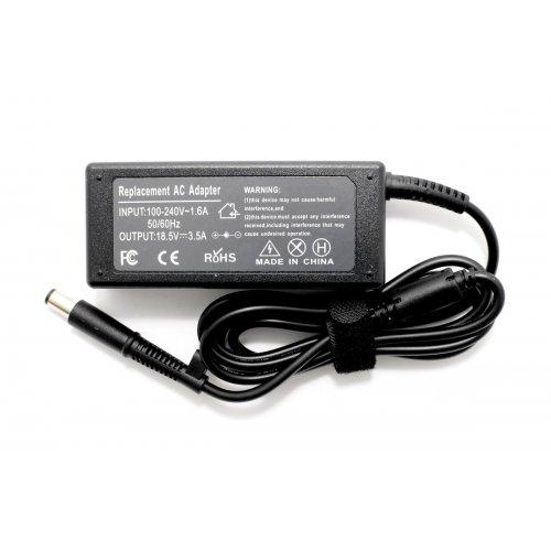 Зарядно за лаптоп (Laptop AC Adapter) HP Compaq - 18.5V / 3.5A / 65W - (7.5x0.7x5.0) - Заместител / Replacement