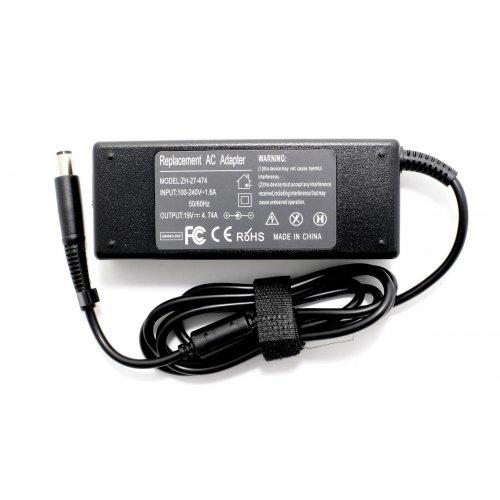 Зарядно за лаптоп (Laptop AC Adapter) HP Compaq - 18.5V / 4.9A / 90W - (7.5x0.7x5.0) - Заместител / Replacement