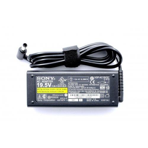 Оригинално Зарядно за лаптоп (Original Laptop Adapter) Sony Vaio - 19.5V / 3.9A / 76W - (6.5x4.4)