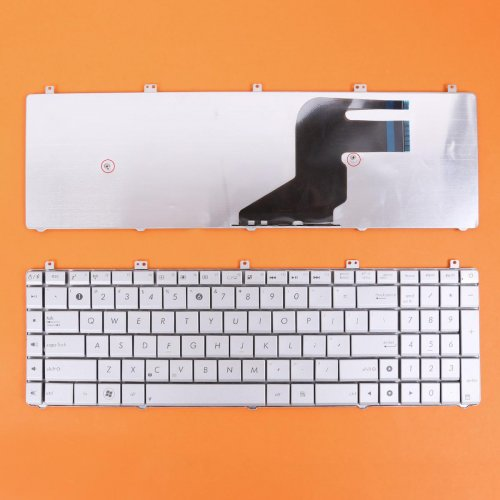 Клавиатура за лаптоп Asus N75 Silver US/UK