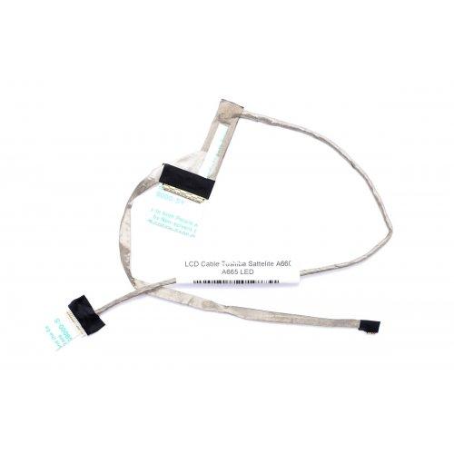 Лентов Кабел за лаптоп (LCD Cable) Toshiba Satellite A660 A665 - DC020012110