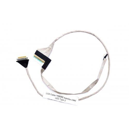 Лентов Кабел за лаптоп (LCD Cable) Toshiba Satellite C660 C660D C665 C665D LED TYPE 2