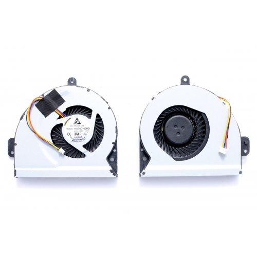 Вентилатор за лаптоп (CPU Fan) Asus X53S A43 K53S A53S K53SJ K43 X43 X43S X43SC (4 Кабела)