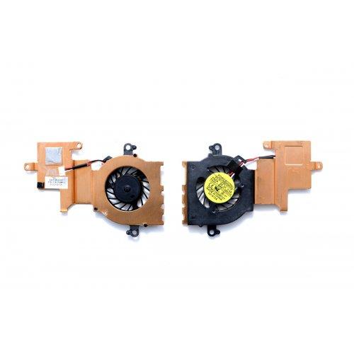 Вентилатор за лаптоп (CPU Fan) Samsung N148 N150 NB30 N210 + Меден охладител (HeatSink)