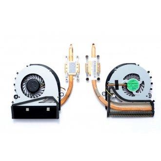 Вентилатор за лаптоп (CPU Fan) Sony Vaio Fit15 SVF15 SVF152 SVF152A29M + HeatSink