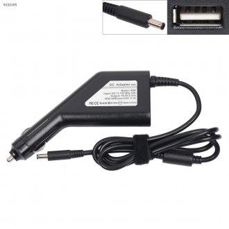 DC Car Adapter / Зарядно за кола (автомобил) Dell 19.5V 45W 2.31A (4.5x3.0) (Desk Type) + USB Charger