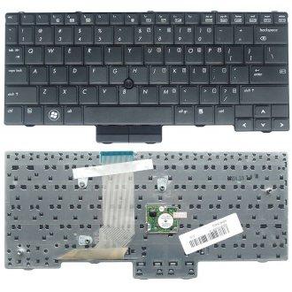 Клавиатура за лаптоп HP EliteBook 2540p Черна с Pointing Stick