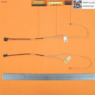 Лентов кабел за лаптоп (LCD Cable) HP 14-BS 14T-BS 14-BW eDP 30 pin Full HD - DD00P1LC013 / DD00P1LC040