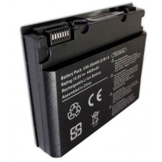 Батерия за лаптоп Fujitsu-Siemens U40 HASEE F1400 F1500 Q450 UNIWILL U40 ADVENT 1015 U40-3S4400-G1L3 - Заместител / Replacement