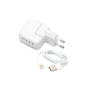 Зарядно за лаптоп Apple - 12W 5.2V 2.4A USB Power Adapter Charger For - iPad / iPhOne / iPod