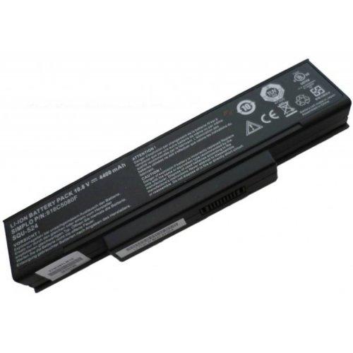 Оригинална Батерия за лаптоп Gigabyte W451U W551N W566U MSI M655 M660 M675 VR600 VR600 GT620 CR400 PR600 Benq R55 SQU-524 (6 cell)