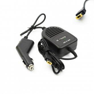 DC CAR Adapter / Зарядно за кола (автомобил) Lenovo Notebook 20V 65W 3.25A (Square Tip) + USB Charger