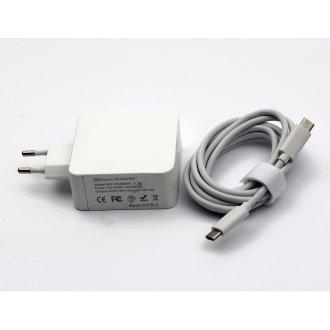 AC Adapter USB TYPE-C PD 65W 5V / 9V / 15V-3A 20V-3.25A (Шуко) - Заместител