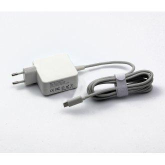 AC Adapter USB TYPE-C PD 45W 5V / 9V / 15V-3A, 20V-2.25A (Шуко) - Заместител