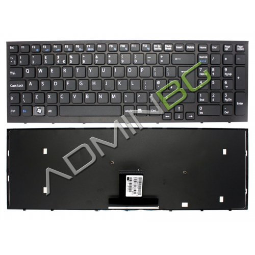 Клавиатура за лаптоп Sony Vaio VPC-EB VPC EB Black Frame Black с Кирилица