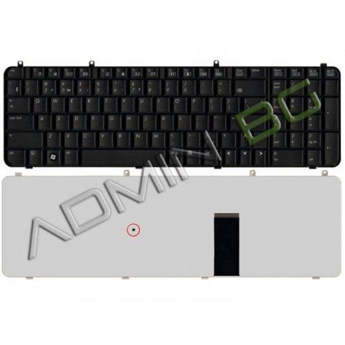 Клавиатура за лаптоп HP Pavilion DV9000 Черна с Кирилица UK US