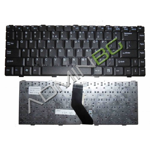 Клавиатура за лаптоп Advent 7211 US Black