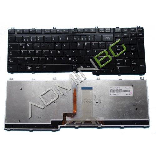 Клавиатура за лаптоп Toshiba Satellite A500 A505 F501 P505 Backlit