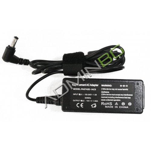 Зарядно за лаптоп (Laptop AC Adapter) Toshiba - 19V / 1.58A / 30W - (5.5x2.5) - Заместител / Replacement