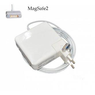 Зарядно за лаптоп (Laptop AC Adapter) Apple - MagSafe2 20V / 4.25A / 85W Шуко - Заместител / Replacement