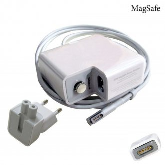 Зарядно за лаптоп (Laptop AC Adapter) Apple - MagSafe 16.5V / 3.65A / 60W (MS1 L Tip ) - Заместител / Replacement