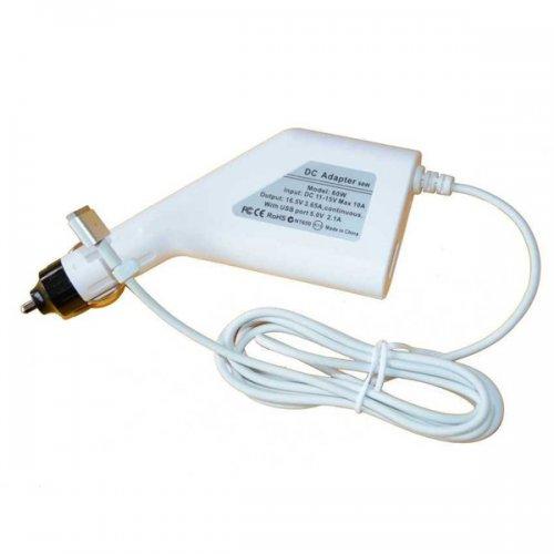 DC Car Adapter / Зарядно за кола (автомобил) Apple 18.5V 90W 4.6A Magnetic (Cigarette Type)