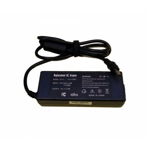 Зарядно за лаптоп (Laptop AC Adapter) / LCD - 12V / 7.5A-8.0A / 90W - (5.5x2.1) - Заместител / Replacement