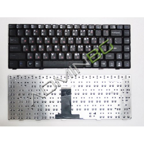 Клавиатура за лаптоп Asus F80 Black US/UK с Кирилица