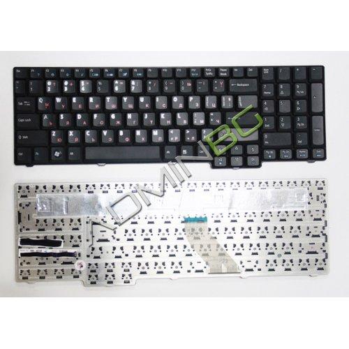 Клавиатура за лаптоп Acer Aspire 6530 6930 7730 8920 8930 Black Glossy US/UK с Кирилица
