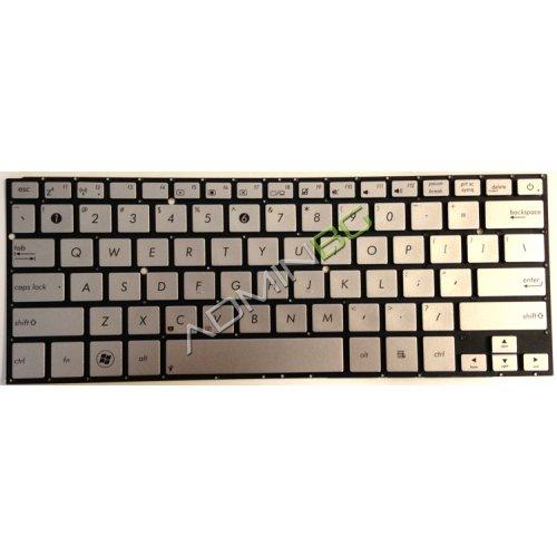 Клавиатура за лаптоп Asus UX31E UX32V Без Рамка (Малък Ентър) Цвят Шампнанско с Кирилица / Without Frame Champagne US