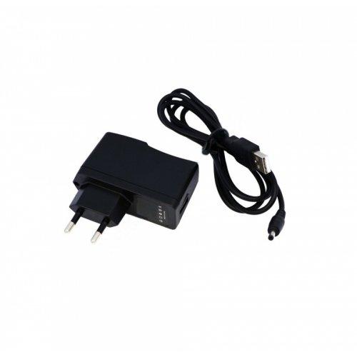 Зарядно за телефон USB 10W 5V 2A (Шуко) 3.5 x 1.35  - Заместител / Replacement