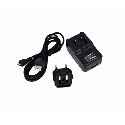 Зарядно за телефон USB 10W 5V 2A (Шуко) With Micro USB Cable