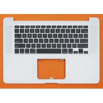 "Горен корпус с клавиатура (Upper Cover+Keyboard) за Apple MacBook Pro 15"" A1398 2012 с Подсветка, Без Тъчпад / With Backlit Without ToucHPad"