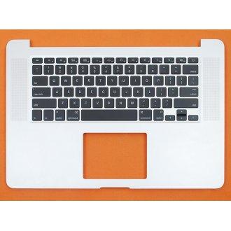 "Горен корпус с клавиатура (Upper Cover+Keyboard) за Apple MacBook Pro 15"" A1398 2013 2014 с Подсветка, Без Тъчпад / With Backlit Without ToucHPad"