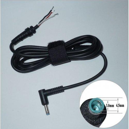 Кабел DC Cord Quality за HP 4.5x0.7x3.0mm Blue Tip