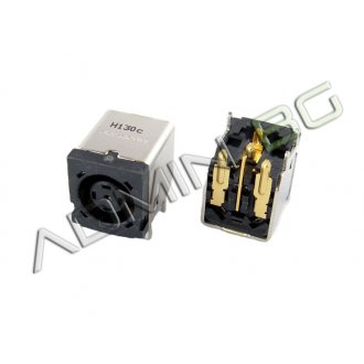 Букса за лаптоп (DC Power Jack) PJ030 Dell Inspiron 1420 1520 1720 9200 500M 640M XPS M1210 M1330