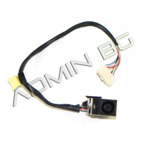 Букса за лаптоп (DC Power Jack) PJ362 HP Pavilion DV6-6000 Series With Cable - 50.4RN09.001