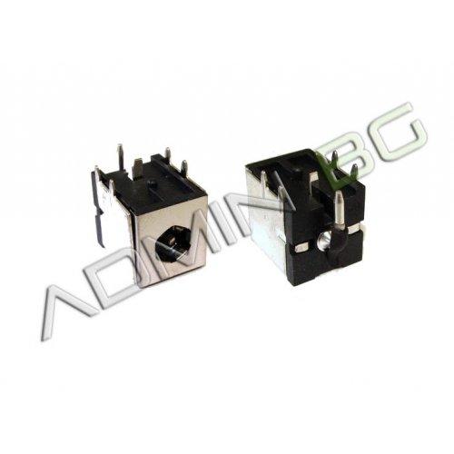 Букса за лаптоп (DC Power Jack) PJ008 2.5mm center pin - Toshiba Satellite A35 A10 A60 A65 A15 P30