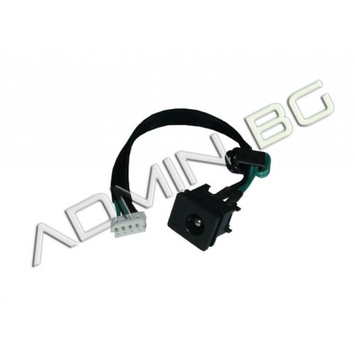 Букса за лаптоп (DC Power Jack) PJ067 2.5mm center pin - Toshiba Satellite C650 L505 With Cable