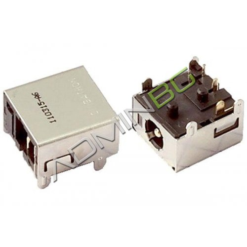 Букса за лаптоп (DC Power Jack) PJ049 1.65mm HP Pavilion TX1000 TX1100 TX1200 TX1300 TX1400
