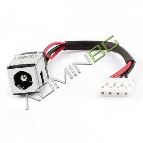 Букса за лаптоп (DC Power Jack) PJ246 Asus K50 P50 K50IJ K60 K60I K60IJ K70 X5DC With Cable