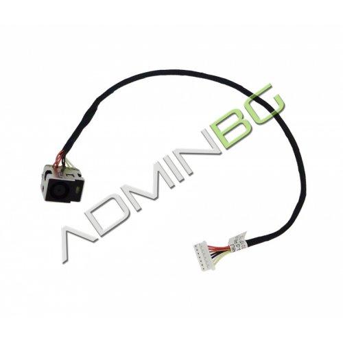 Букса за лаптоп (DC Power Jack) PJ230 HP Compaq CQ62 G62 CQ72 G72 Series With Cable 7pins