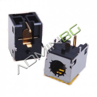 Букса за лаптоп (DC Power Jack) PJ074 2.5mm center pin - HP Pavilion ZD ZX ZV Series ZD7000