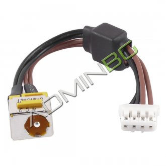 Букса за лаптоп (DC Power Jack) PJ047G-4 1.65mm Acer Aspire 5720 5310 5320 5520 With Cable